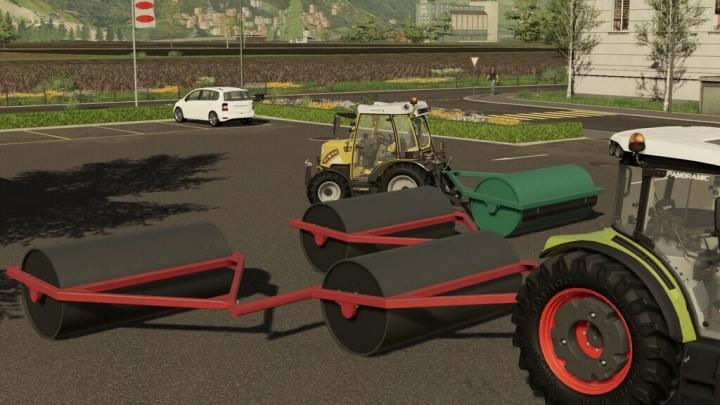 FS19 - Agricultural Rollers V3.0