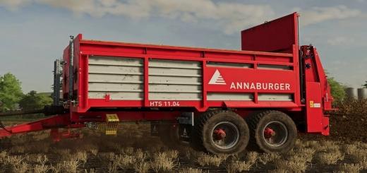 Photo of FS19 – Annaburger Hts 11D.04 Tandem V1.0