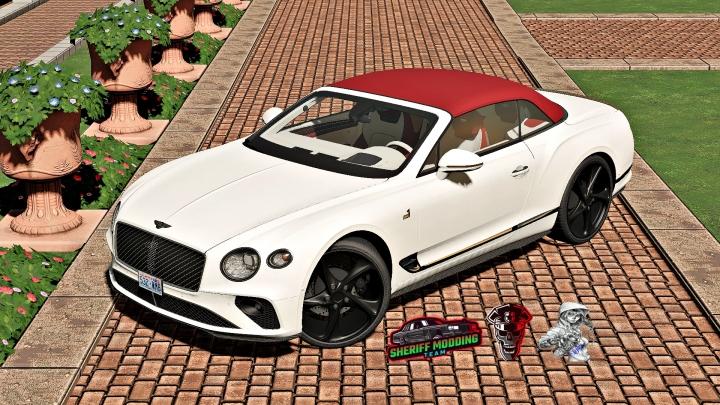 FS19 - Bentley Continental Gt Convertible V1.2