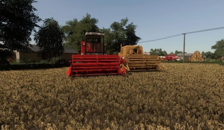 FS19 - Bizon Z056 Harvester V2.0