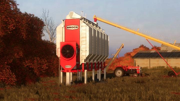 FS19 - Brock Grain Dryer Hotfix V1.1