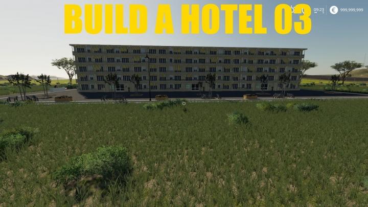 FS19 - Build A Hotel 03 V1.0