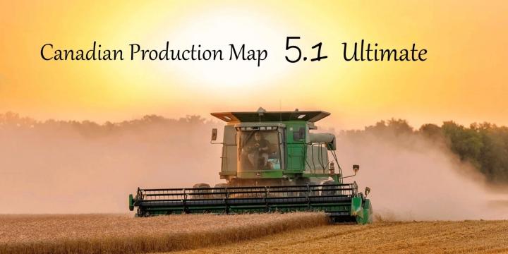 FS19 - Canadian Production Map Ultimate V5.1