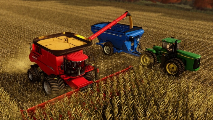 FS19 - Case Axial-Flow 250 Series V1.0