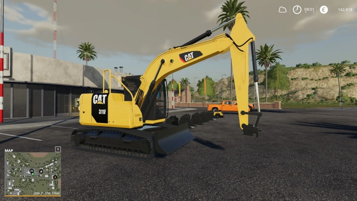 FS19 - Cat 311F V1.0