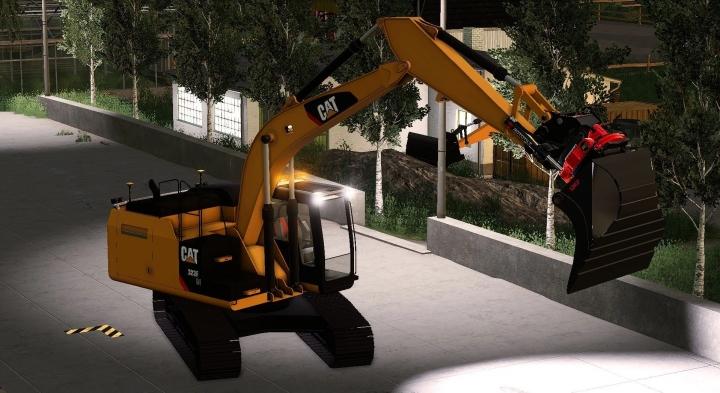 FS19 - Caterpillar 311F V1.0
