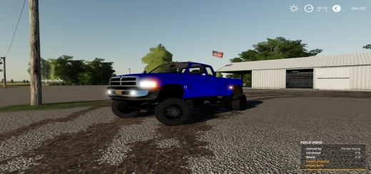 Photo of FS19 – Dodge Second Gen Tow Rig V1.0