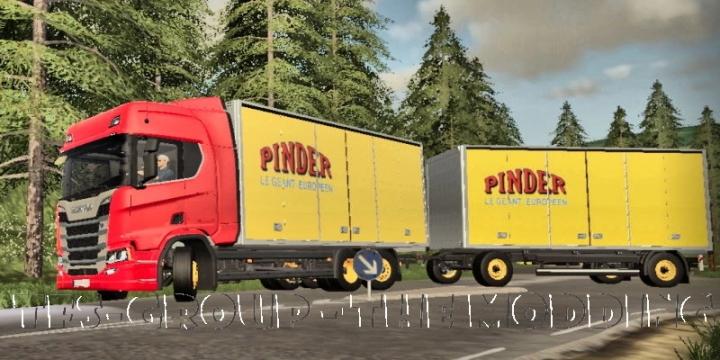 FS19 - Ensemble Scania Pindrer V2.0