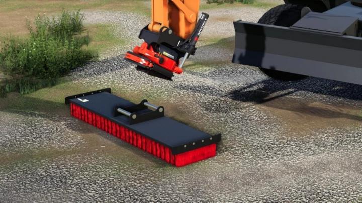 FS19 - Excavator Brush R4 V1.0