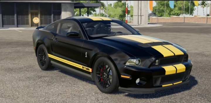 FS19 - Ford Mustang V1.0