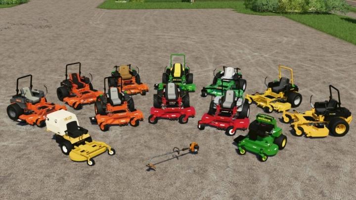 FS19 - Giant Mower Pack V1.0