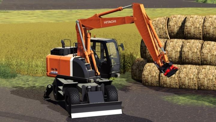 FS19 - Hitachi 145W V2.0