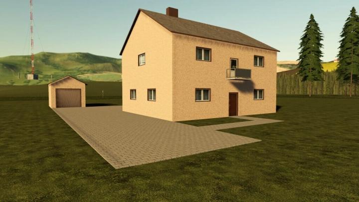 FS19 - Houses (Prefab) V1.0