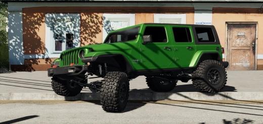 Photo of FS19 – Jeep Wrangler 2020 V1.0