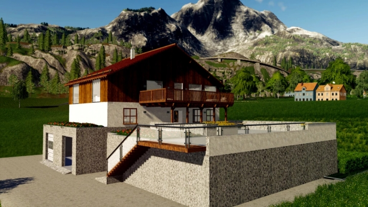 FS19 - Leni Mountain Chalet V1.0