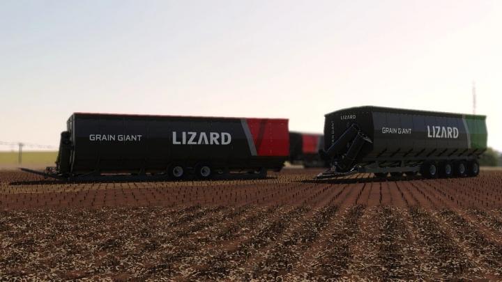 FS19 - Lizard Grain Giant V1.0