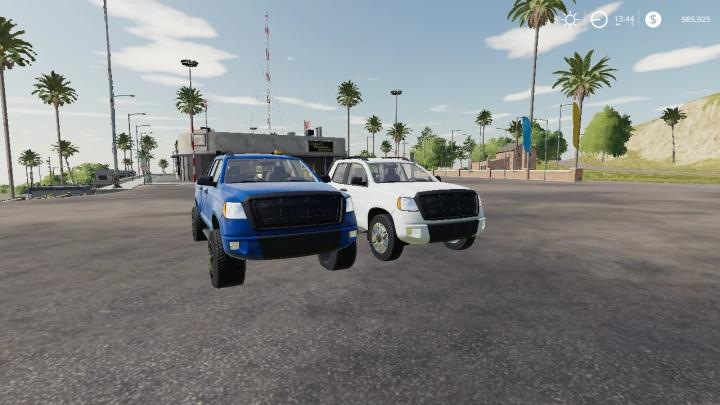FS19 - Lizard Service Truck V-12 V1.0