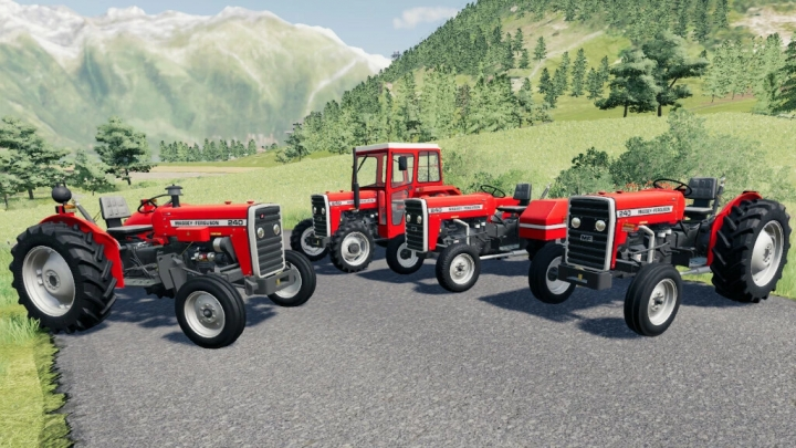 FS19 - Massey Ferguson 100 And 200 3Cyl Series V1.1.0.1
