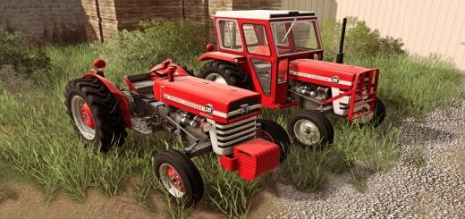 Photo of FS19 – Massey Ferguson 100 And 200 3Cyl Series V1.1