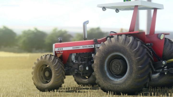 FS19 - Massey Ferguson 296 - 299 V1.0