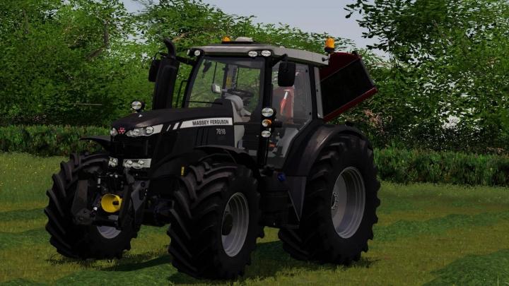 FS19 - Massey Ferguson 7600 Black Edition V1.0