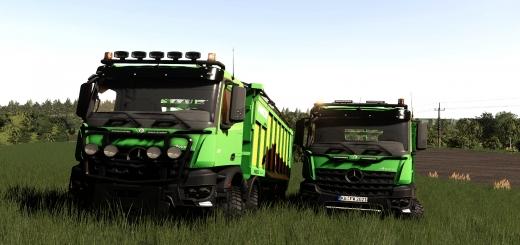 Photo of FS19 – Mercedes Arocs Agrar 8X8 Joskin Edition V1.0