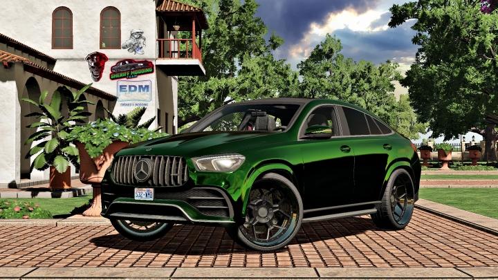 FS19 - Mercedes Gle Coupe 2020 V1.1