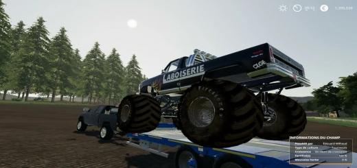 Photo of FS19 – Monster Trucks Boiserie V1.0