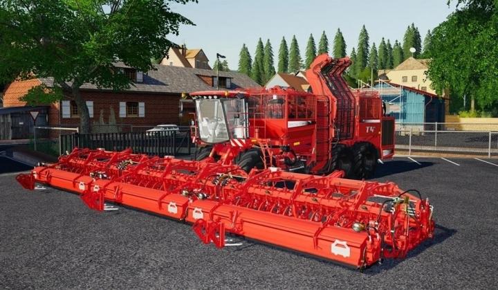 FS19 - Multifruit T4-40 Harvester And Cutter Pack V1.0