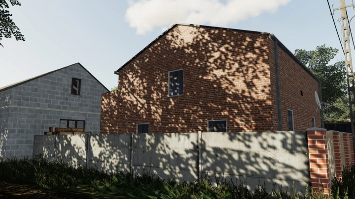 FS19 - Old Medium Brick House V1.0