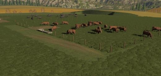 Photo of FS19 – Pastures V1.0