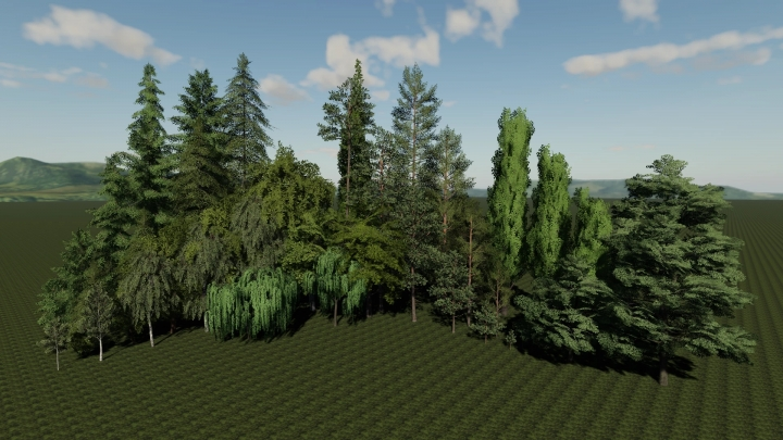 FS19 - Placeable Tree V1.0