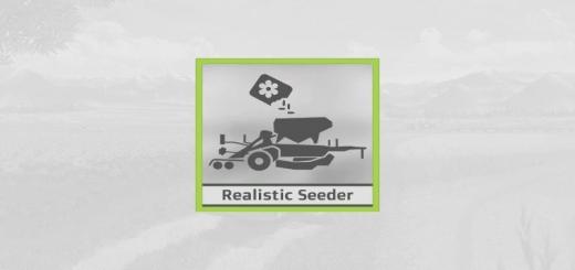 Photo of FS19 – Realistic Seeder V3.0.0.3
