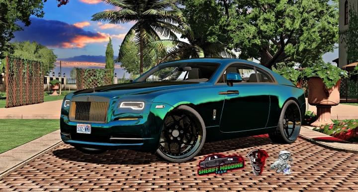 FS19 - Rolls-Royce Wraith V1.2