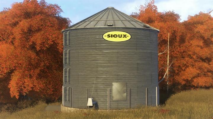 FS19 - Sioux Dry Corn Bin V1.5