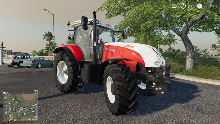 FS19 - Steyr 6230 Cvt V1.0