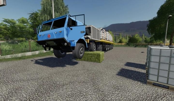 FS19 - Tatra 16X16 Plato V1.0