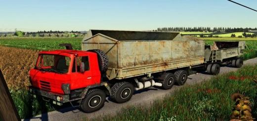 Photo of FS19 – Tatra 815 Agro 8X8 Pack V1.0