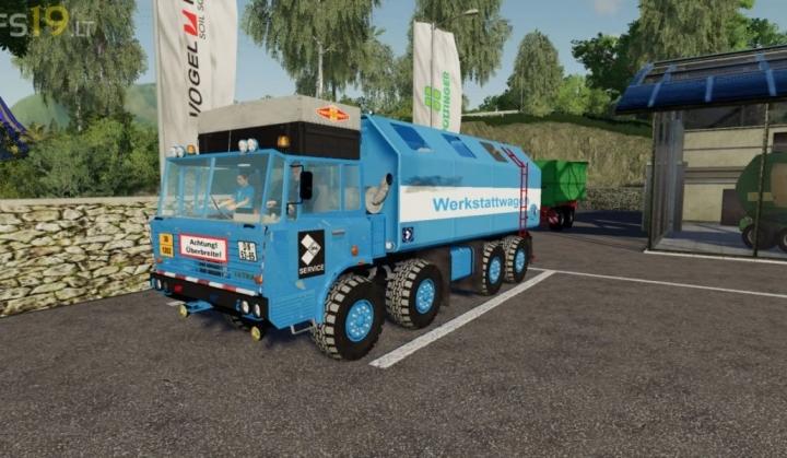FS19 - Tatra 8X8 Service V1.0