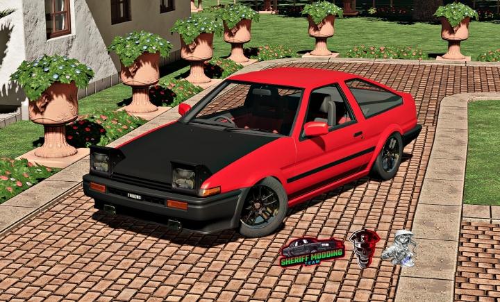 FS19 - Toyota Ae86 Trueno V1.0