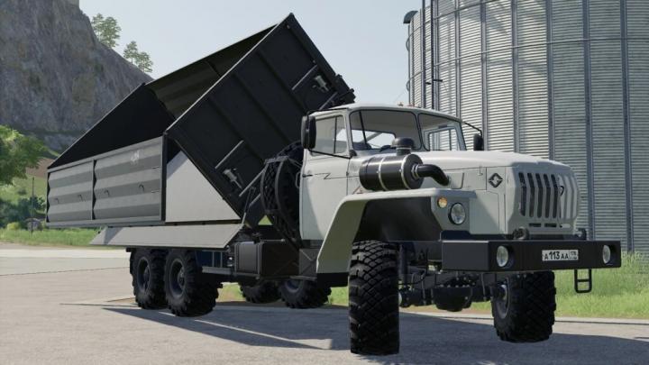 FS19 - Ural 5557/4320-60 Farmer V1.0.2.0