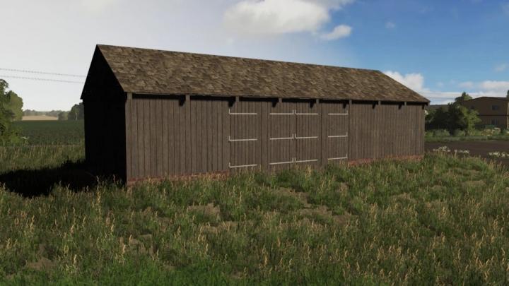 FS19 - Wooden Barn V1.0