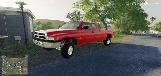 Photo of FS19 – 1996 Dodge 3500 V1.0