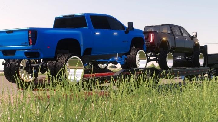FS19 - 2021 Chevrolet 3500Hd High Country V1.0