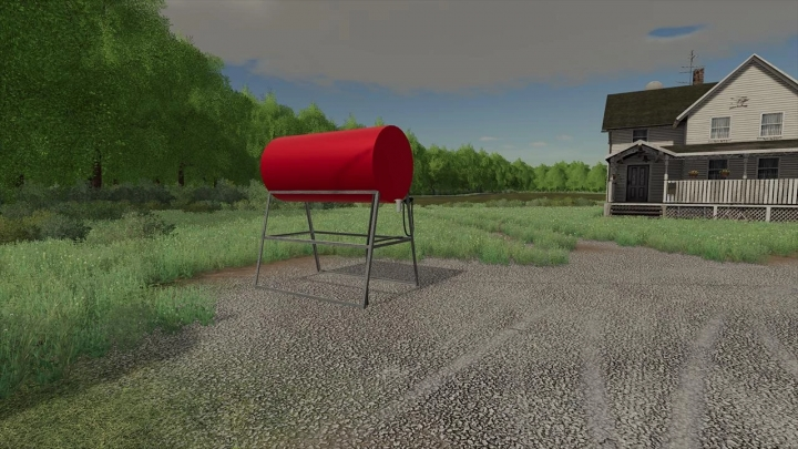FS19 - American Placeable Fuel Tank V1.0