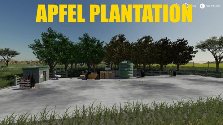 FS19 - Apfel Plantation Factory V1.1