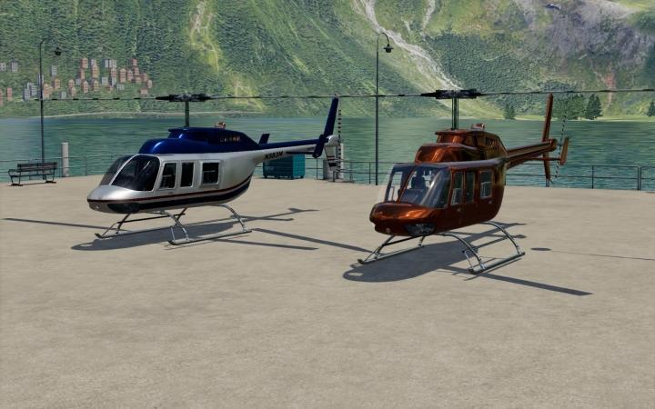 FS19 - Bell206L V1.0