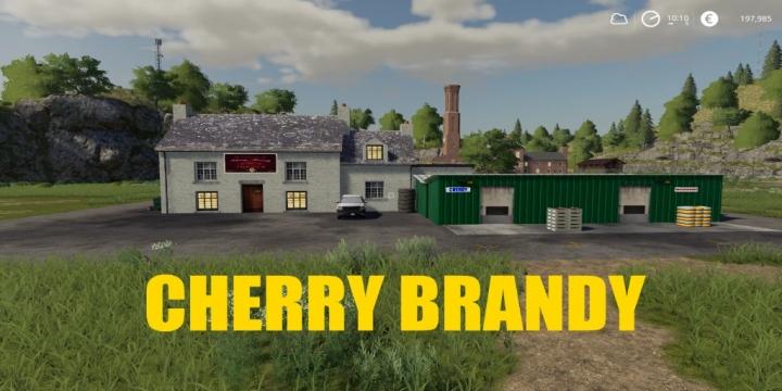 FS19 - Brandy Factory V1.1