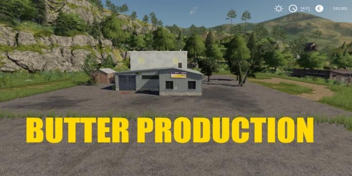 FS19 - Butter Factory V1.1