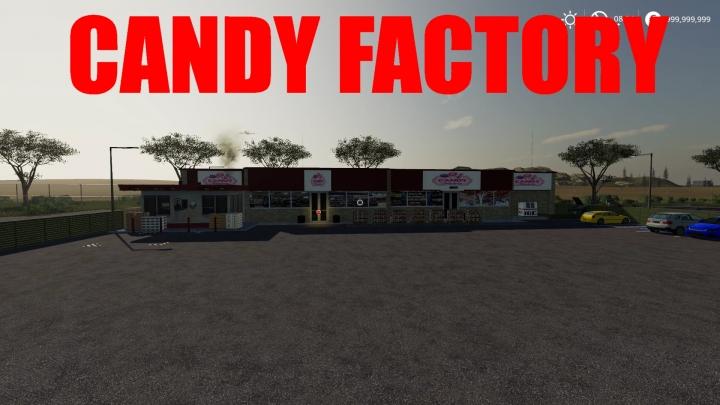 FS19 - Candy Factory V1.0